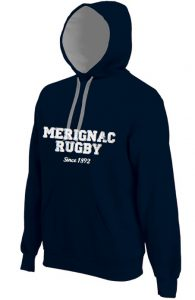 Photo du produit : Sweat bleu Mérignac Rugby